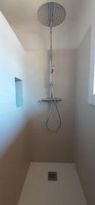 Rénovation salle de bain douche à l'italienne